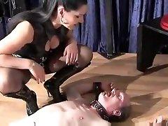 Hottest amateur BDSM, Slave sex movie