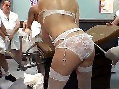Exotic pornstar Bailey Odare in best redhead, gangbang sex scene