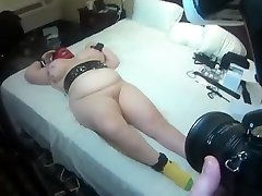 Crazy homemade BDSM, Fetish sex scene