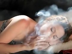 Exotic amateur Smoking, dames super booty porn clip