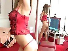 Sexy tease beauty
