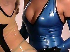 Mistress Jean Enjoys Latex Clad Subs