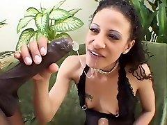 Crazy pornstar in exotic black and ebony, jerk off hung adult video