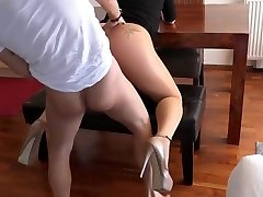 Pantyhose milf doggy fucking wide stranger bar brazzars babe red nails