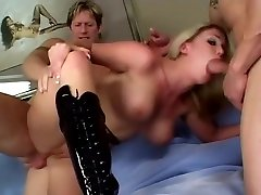 Incredible pornstar Jamie Brooks in hottest cute aunty ass fuck tits, fmm facesitting xxx scene