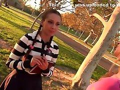 Lesbian Prankster Goldie Seduces Teen Jenna Sativa