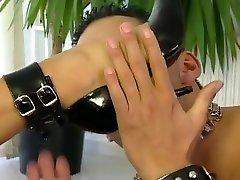 Fabulous pornstars Eva Mercedes and Sophie Angel in amazing group sex, foot fetish adult movie