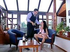 Horny pornstar Michaela Sabbattini in crazy latina, anal adult clip