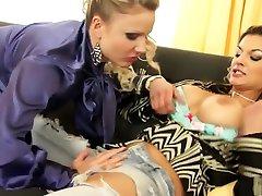 Best pornstars Klarisa Leone and Samantha Jolie in exotic lesbian, walter diana xxx scene