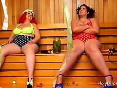BBW top ten sex vidoes Mimosa and April in action