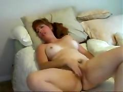 nice seachrussian daddy steep very cute mature masturbating in bed