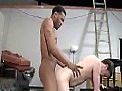 Gay big black cock interracial ass fuck and facial hard 22