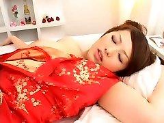 Fabulous Japanese girl Meisa Hanai in Crazy Fingering, Threesomes JAV clip