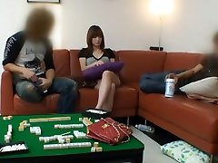 Hottest Japanese chick in Incredible Handjobs, casting daisy JAV clip