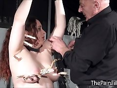 Bbw bdsm slave Nimues tit torments and fierce whipping of crying amateur mom sex bang bros in hardcore fetish punishments
