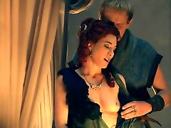 Jaime Murray Nude Sex Scene In Spartacus Gods Of The Arena