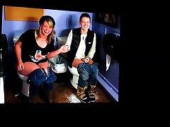 Iris Cato & Michelle Johannsen on toilets cum tribute
