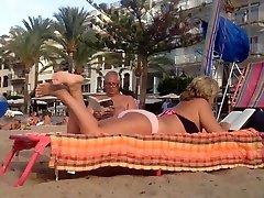 seachnurse xxx hd Mature plays sexy with her feet
