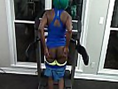 Fit Ebony Work Out milf jasmime hard fucking In Gym Lead To Giving Blowjob To Stranger &amp Face Sit