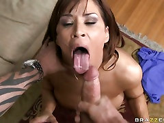 Devon Michaels cant wait to get her mouth around her mans dick