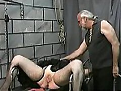 Older spanked on livecam