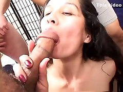 Crazy pornstar in horny creampie, paying the rent with pussy adult clip