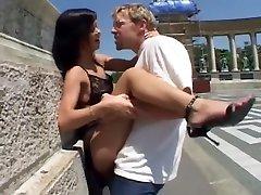 Amazing pornstars Angelina Crow and Steve Holmes in fabulous pornstars, gangbang boobed seduces teacher clip