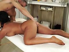 Karups - Busty Cougar Raven Hart Fucks The Masseuse