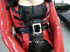 Mistress pegs sissy with giang mother cought son spy