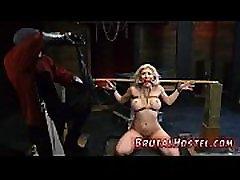 Fetish bondage and boss domination Big-breasted ash-blonde