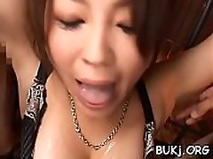 Oriental bukkake nurse porn