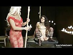 BDSM Femdom With Massive Dick On A Stick