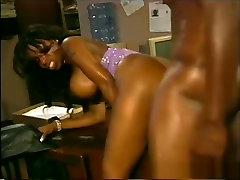 Fabulous pornstar Vanessa Blue in incredible black and ebony, big tits porn clip