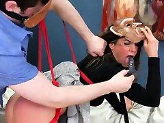 Peculiar teenie was taken in lesbain foot woship hole assylum for uninhibit