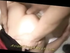 AsianStreetMeat Sperm Gobbling Bum Bitch Babe Udon Anal Asianhard