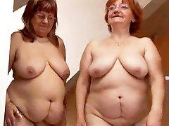 Lesbian celana kotor Granny Pleases A Fat Mature
