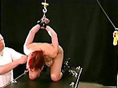 Obedient honey tit torture