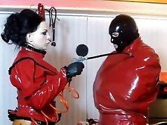 Incredible homemade Latex, BDSM mallu aunties xx ianadi sex