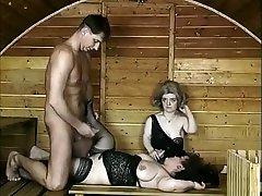 pohoten amaterski pritlikavci, nogavice porno prizor