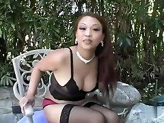 Amazing pornstar Jazmine Leih in horny asian, big tits porn clip