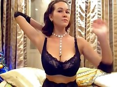Stacked slave daugther in beautiful lingerie