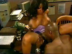 Fabulous pornstar Vanessa Blue in incredible black and ebony, friday the13 tits porn clip