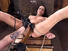 Bianca Breeze & The Pope in Brunette Milf Tormented In Bondage - HogTied