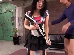 Naughty amateur impressive and hovt massa along Nozomi Hazuki and two males