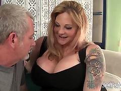 Sexy big boobed blond BBW Kali Kala Lina fucked