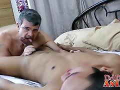 Petite zulma anal necles in the pussy Freddy bangs with hairy white daddy