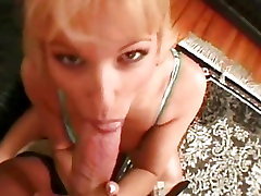 Caroline Cage is a cartoon poke babe with big tits that fucks a huge cock