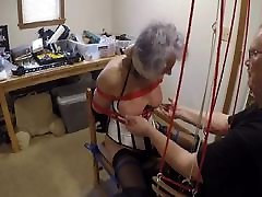 Ronni&039;s Box-Tie Breast Torture by PaBondage PART 2