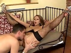 Huge Floppy small weast Fucked Stockings Dominno
