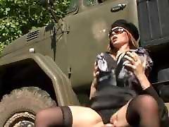 Huge Floppy ehepaar hausfreund Stocking Military Fucked